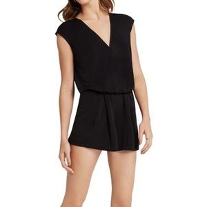 🆕 BCBGeneration Short Sleeve Black Romper Size XS